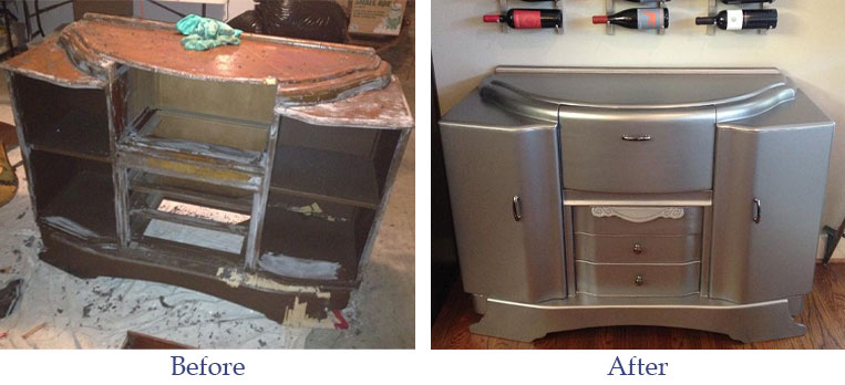 before-after-furniture-refinishing-island